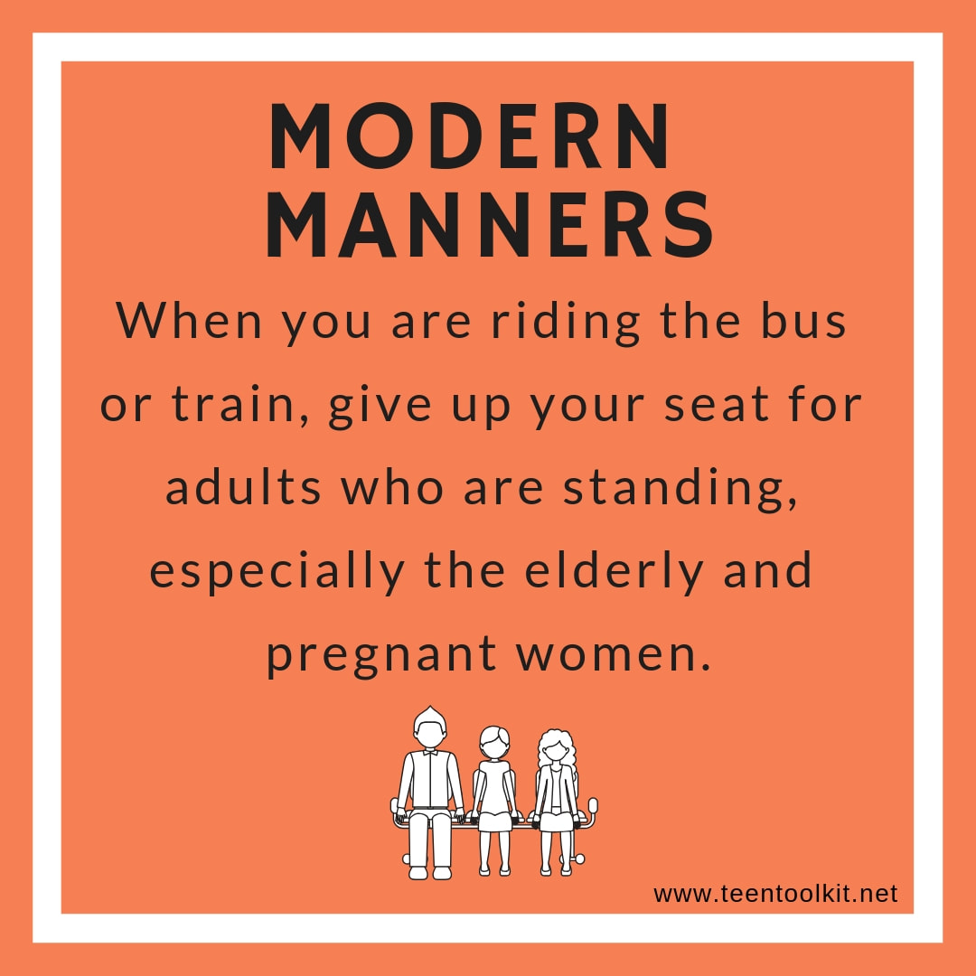 Category: Modern Manners - Teen Toolkit